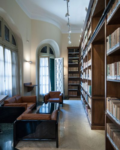 Villa Zito, Biblioteca - ph. Studio Pucci Scafidi