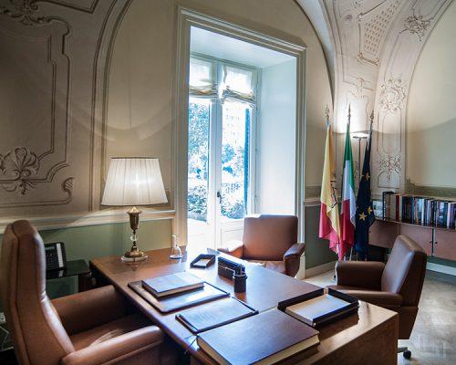 Villa Zito, Ufficio del presidente - ph. Studio Pucci Scafidi